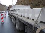 Montáž betonová svodidla